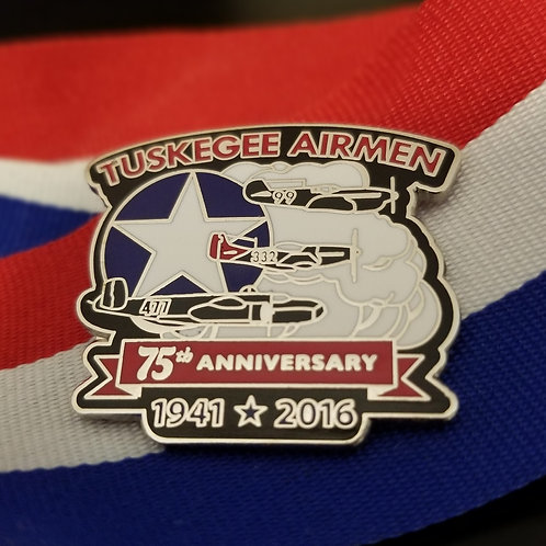 Tuskegee Airmen - 75th Anniversary Pin