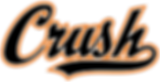 Crush Wordmark (Outline Orange) - 300 dp