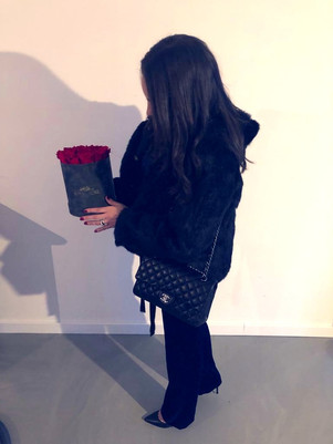 Royal rose velvet