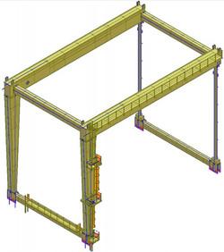Telaio 3D transtainer