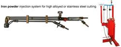 Iron powder injection system