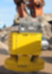 Automatic slab tong