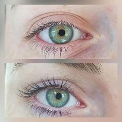 Einen unglaublichen Augenaufschlag ohne