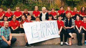 E-Fan: Local school helps name Dyffryn Ogwen's new electric 'community car'