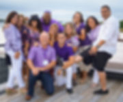 Classical High School Purple and White Beach Party 2018