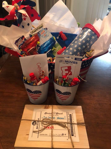 4th of July Prizes