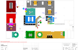 Moderne Rom Møbleringsplan