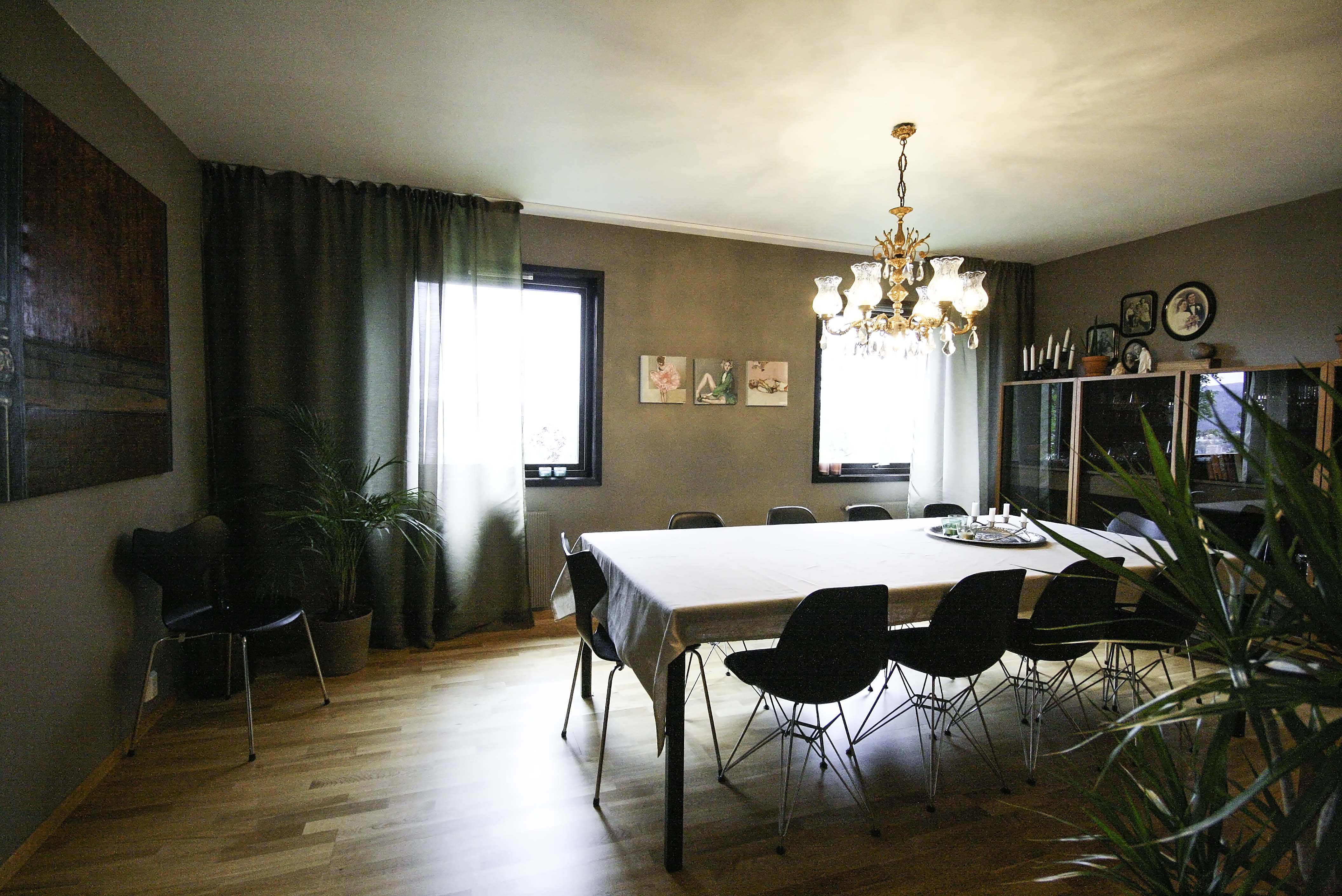 Interiør privatbolig i Drammen