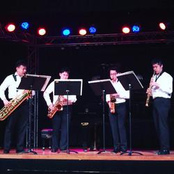 2017 GVY saxophone quartet