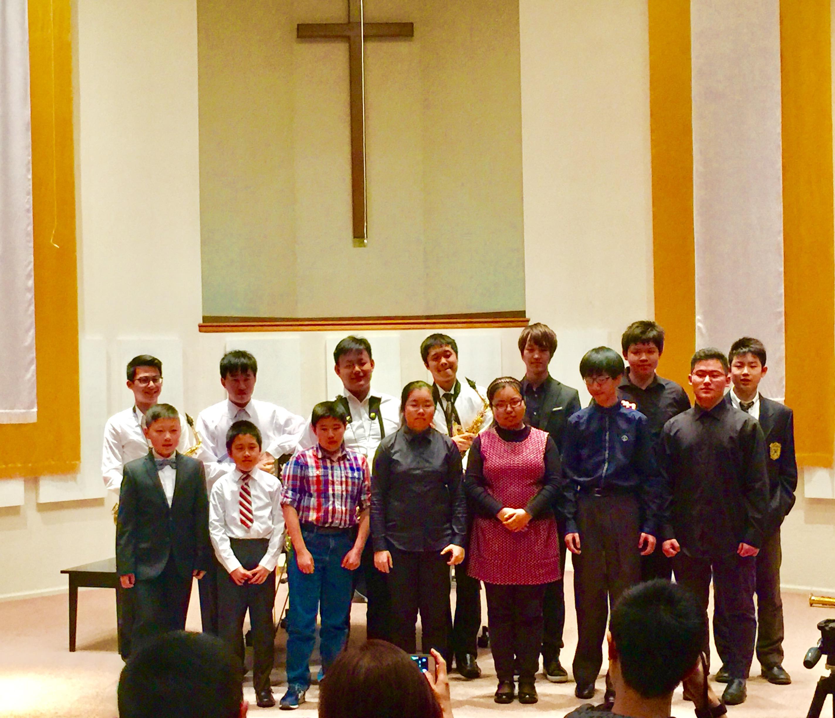 2017 Annual student recital