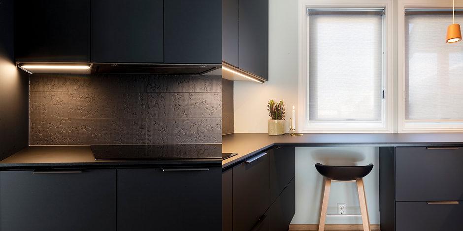 Paradis Interiørarkitekter design kjøkken Asker