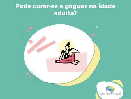 Pode curar-se a gaguez na idade adulta?