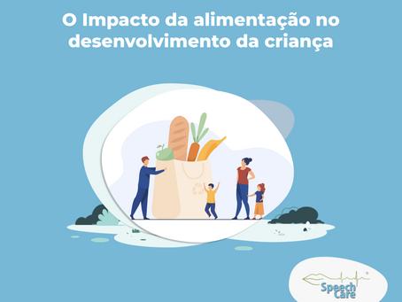 O Impacto da alimentação no desenvolvimento da criança