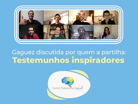 Gaguez discutida por quem a partilha: Testemunhos inspiradores de um grupo que o CTG ajudou a reunir