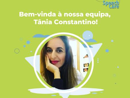 Bem-vinda à nossa equipa, Tânia Constantino!
