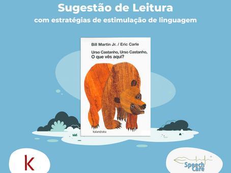 Sugestão de Leitura com estratégias de estimulação da linguagem