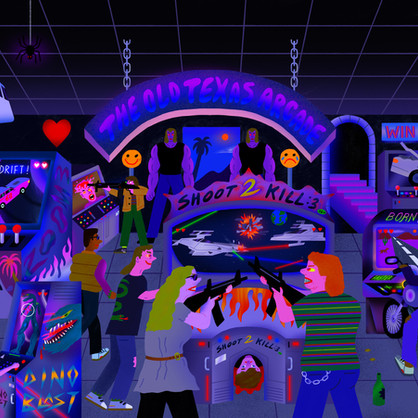 The Old Texas Arcade