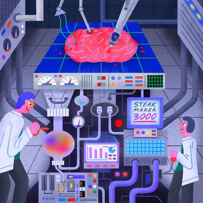Lab-grown Meat