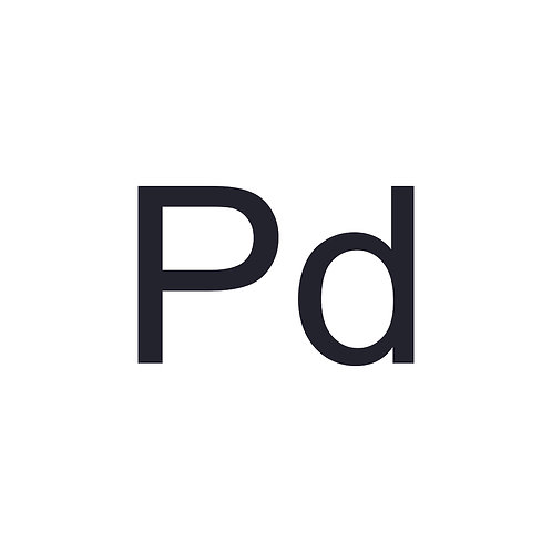 Palladium   7440-05-3   MFCD03427452
