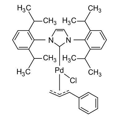 [1,3-Bis(2,6-diisopropylphenyl)imidazol-2-ylidene]chloro[3-phenylallyl]palladi