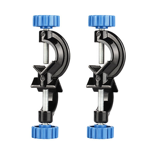 Adjustable Bosshead Clamp Holder, Boss Head, Aluminum Alloy Body, 2 Pack
