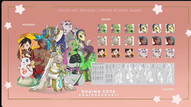 COTSG NPC Designs   Grand Scheme Games