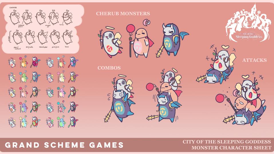 City of the Sleeping Goddess (COTSG), Grand Scheme Games