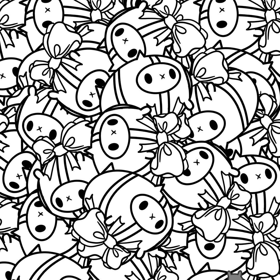 Binky's Coloring Page