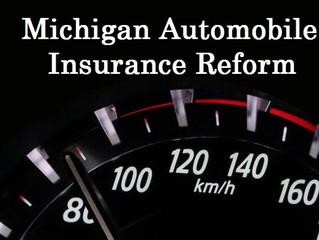 Michigan Auto Insurance Reform