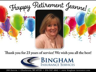 Happy Retirement Jeanne!