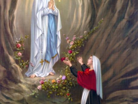 Messe Bilingue pour Sainte Fête de Notre Dame de Lourdes