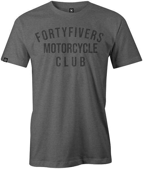 Fortyfivers Event Tee - Grey Marl