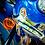 Thumbnail: FortyFivers Pin Shifter Knob - Amber / Brass