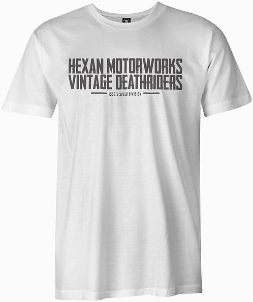 Hexan Deathriders Tee - White