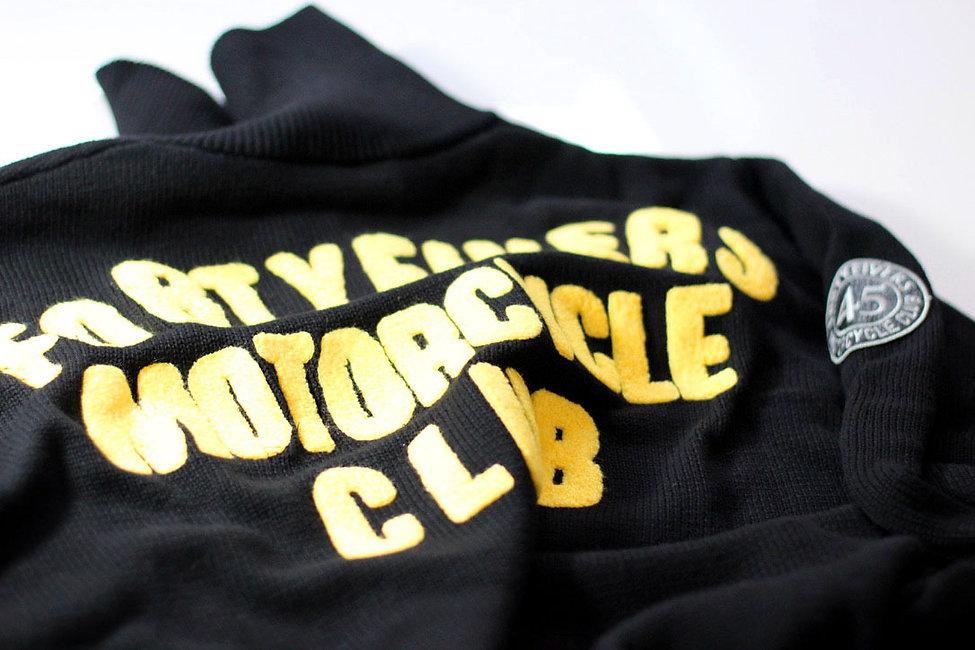 Hexan Motorworks x Fortyfivers MC Vintage Race Jersey