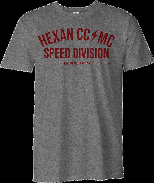 Hexan Speed Tee - Grey Marl
