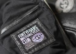 Hexan Motorworks x Fortyfivers Leather Motorcycle Jacket 05