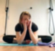 Iyengar yoga classes in Surrey and Berkshire