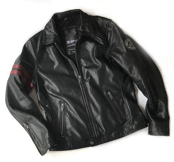 Hexan Motorworks x Fortyfivers MC Vintage Leather Motorcycle Jacket