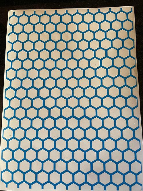 Skid Lidz - Honeycomb -  3x Sheets A4