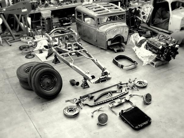 Hexan Motorworks workshop