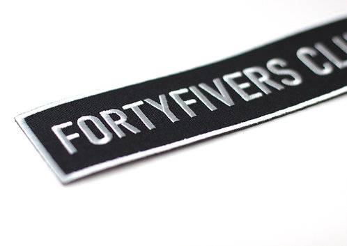 FortyFivers Woven Patch - Large