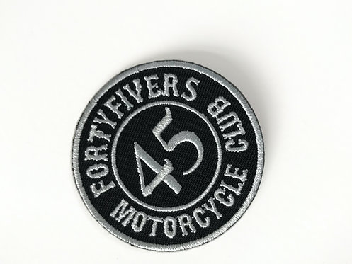 FortyFivers Leather Woven Patch