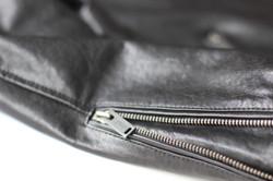 Hexan Motorworks x Fortyfivers Leather Motorcycle Jacket 06