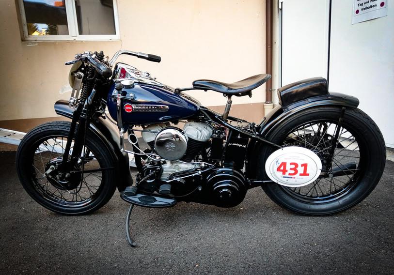 1947 Harley Davidson Flathead Race Bike