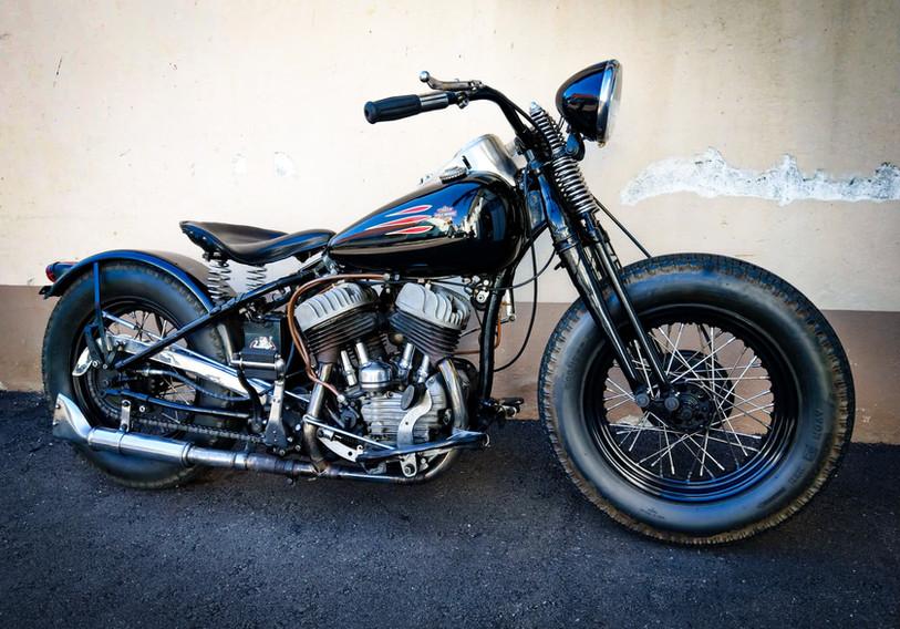 1942 Harley Davidson WLA with 1947 Engine