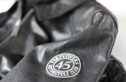 Hexan Motorworks x Fortyfivers Leather Motorcycle Jacket 04