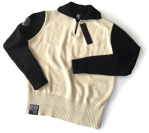 Vintage Knit Race Jersey - Ivory