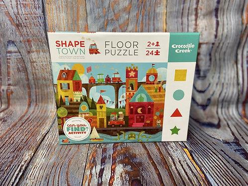 Shape Town 24 pc. Floor Puzzle