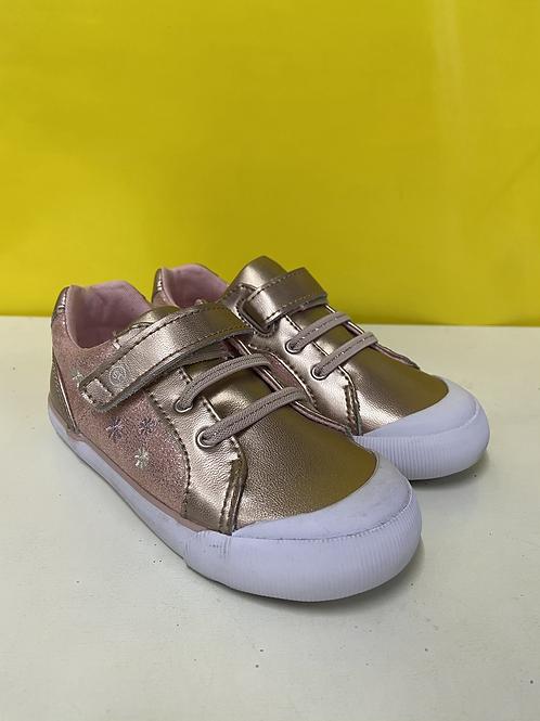 Stride Rite Parker Sneaker - Rose Gold